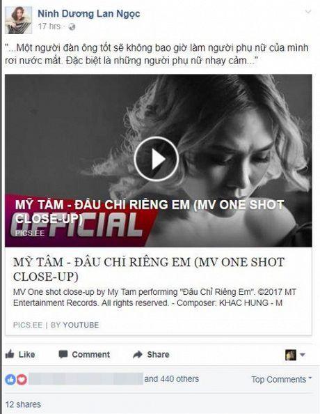 Hari Won, Min cung nhieu sao Viet dong loat 'buong loi yeu thuong' voi MV moi cua My Tam - Anh 12