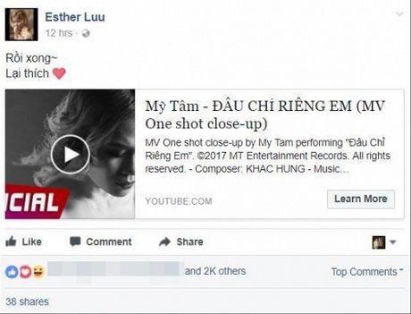Hari Won, Min cung nhieu sao Viet dong loat 'buong loi yeu thuong' voi MV moi cua My Tam - Anh 3