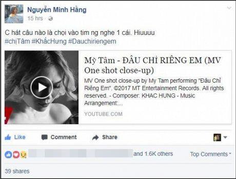 Hari Won, Min cung nhieu sao Viet dong loat 'buong loi yeu thuong' voi MV moi cua My Tam - Anh 4