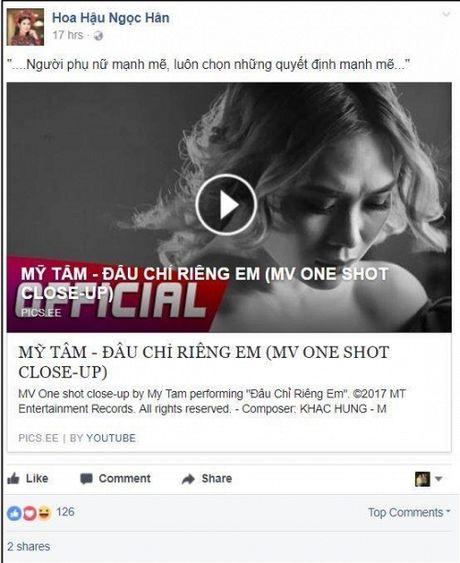 Hari Won, Min cung nhieu sao Viet dong loat 'buong loi yeu thuong' voi MV moi cua My Tam - Anh 6