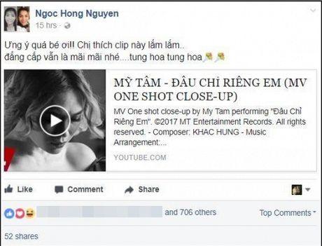 Hari Won, Min cung nhieu sao Viet dong loat 'buong loi yeu thuong' voi MV moi cua My Tam - Anh 8