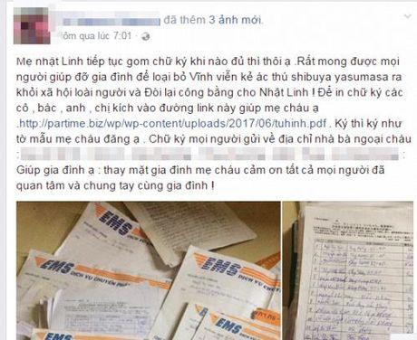 Mẹ bé gái bị sát hại Nhật Linh tha thiết kêu gọi cộng đồng ký tên đề nghị T.Ử HÌNH kẻ biến thái hại con gái