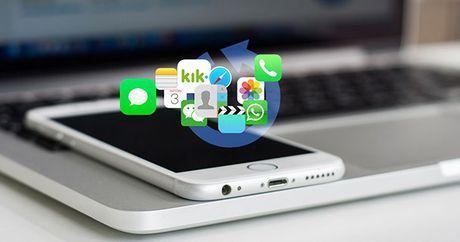 Cach khoi phuc tin nhan da xoa tren iPhone - Anh 1