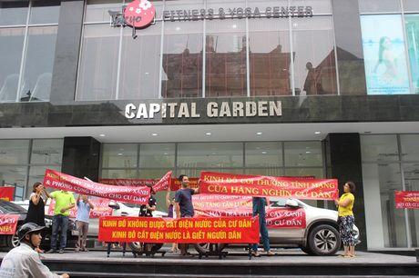 Cu dan Capital Garden Truong Chinh phan doi cach thuc tinh tien dien cua chu dau tu - Anh 1