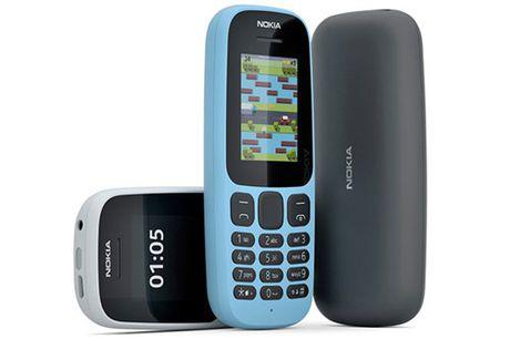 HMD Global trinh lang Nokia 130 va Nokia 105 the he 2017 - Anh 1