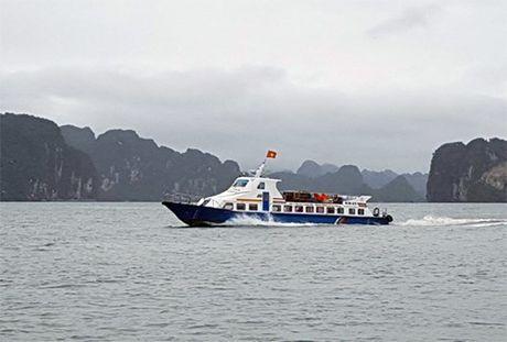 3.500 khach du lich tai dao Co To, Quang Ninh da ve dat lien - Anh 1