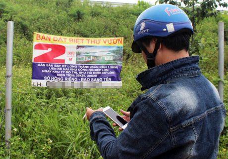 Phan lo ban nen o at quanh du an san bay quoc te Long Thanh - Anh 2
