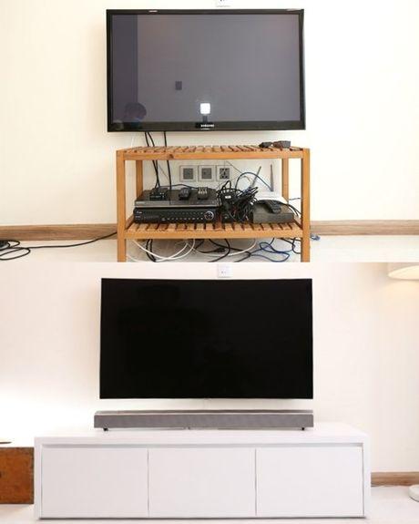 Thay doi TV, nang cap khong gian song - Anh 1
