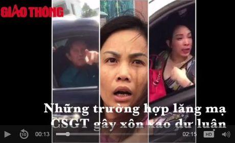 Nhung vu lang ma CSGT gay phan no (video) - Anh 1