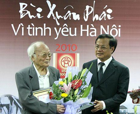 Bang vang Giai thuong Bui Xuan Phai - Vi Tinh Yeu Ha Noi tu 2008 - 2016 - Anh 2