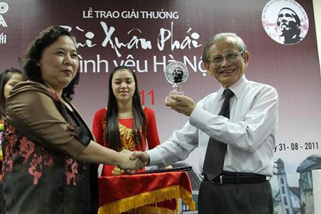 Bang vang Giai thuong Bui Xuan Phai - Vi Tinh Yeu Ha Noi tu 2008 - 2016 - Anh 3