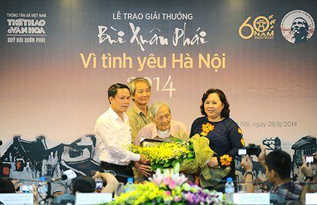 Bang vang Giai thuong Bui Xuan Phai - Vi Tinh Yeu Ha Noi tu 2008 - 2016 - Anh 6