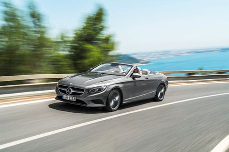 Hinh anh dau tien cua S-Class Coupe va Cabriolet 2018 truoc khi ra mat - Anh 8