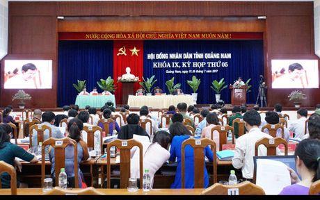 Quang Nam quyet xay dung 4 nha may thuy dien dau nguon Song Tranh 2 - Anh 1