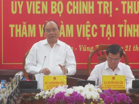 Thu tuong: Giai quyet rot rao cac van de ton tai cua cang Cai Mep – Thi Vai - Anh 1