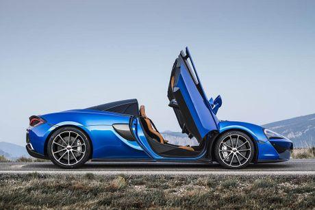 Ve dep thuc te sieu xe mui tran McLaren 570S Spider - Anh 13