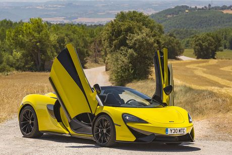 Ve dep thuc te sieu xe mui tran McLaren 570S Spider - Anh 6