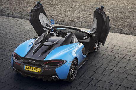 Ve dep thuc te sieu xe mui tran McLaren 570S Spider - Anh 9