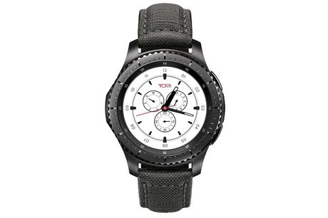 Samsung bat gio gioi thieu dong ho Gear S3 Frontier TUMI Special Edition - Anh 1