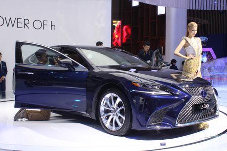 Chi tiết Lexus LS500h và LC500h vừa ra mắt