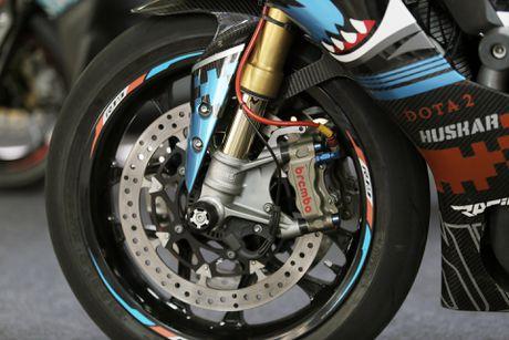 Sieu moto Yamaha R1M do tem ca map o Sai Gon - Anh 4