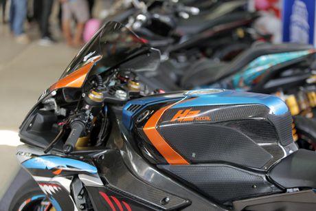 Sieu moto Yamaha R1M do tem ca map o Sai Gon - Anh 5