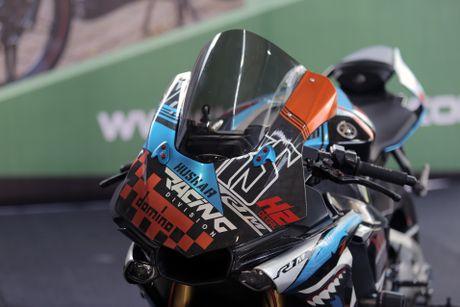 Sieu moto Yamaha R1M do tem ca map o Sai Gon - Anh 8