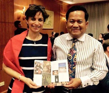Nha bao Campuchia Khieu Kola va hoi uc ve nhung nguoi thay TTXVN - Anh 2