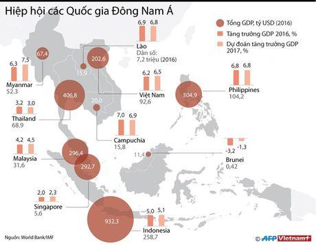 Nhung con so an tuong ve kinh te cac nuoc ASEAN - Anh 1
