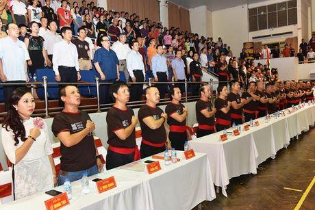 Tung bung Hoi dien vo thuat co truyen Ha Noi mo rong lan thu 33 - Anh 2