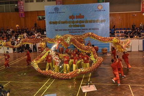Tung bung Hoi dien vo thuat co truyen Ha Noi mo rong lan thu 33 - Anh 6