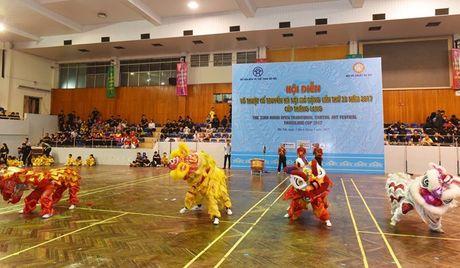 Tung bung Hoi dien vo thuat co truyen Ha Noi mo rong lan thu 33 - Anh 7