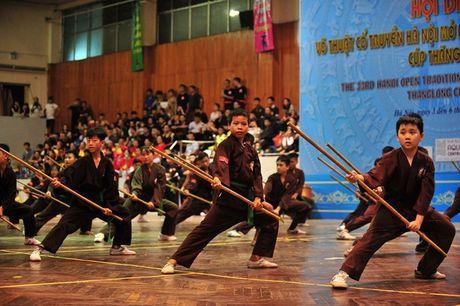Tung bung Hoi dien vo thuat co truyen Ha Noi mo rong lan thu 33 - Anh 8