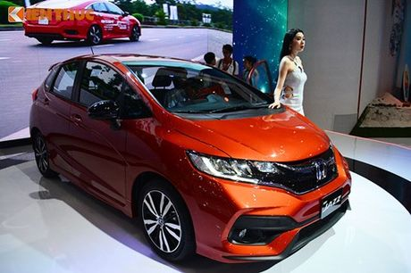 Xe oto Honda Jazz moi ve Viet Nam 'dau' Toyota Yaris - Anh 12