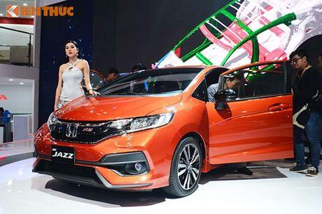 Xe oto Honda Jazz moi ve Viet Nam 'dau' Toyota Yaris - Anh 13