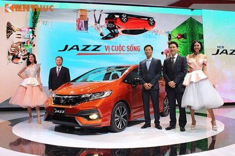 Xe oto Honda Jazz moi ve Viet Nam 'dau' Toyota Yaris - Anh 1