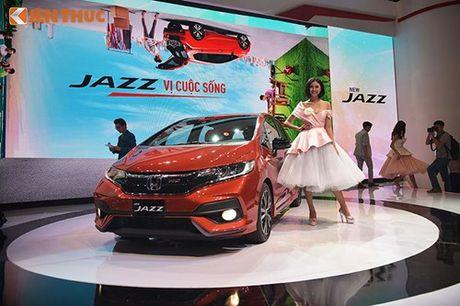 Xe oto Honda Jazz moi ve Viet Nam 'dau' Toyota Yaris - Anh 2