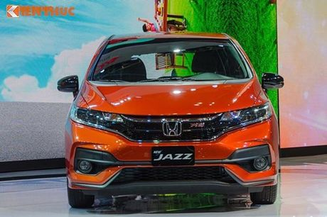 Xe oto Honda Jazz moi ve Viet Nam 'dau' Toyota Yaris - Anh 3