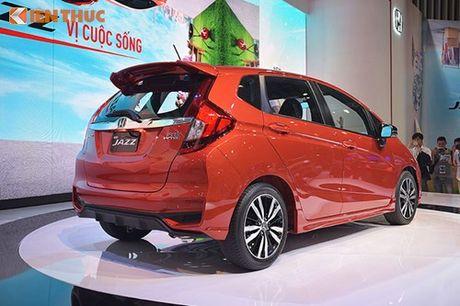 Xe oto Honda Jazz moi ve Viet Nam 'dau' Toyota Yaris - Anh 5