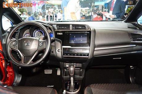 Xe oto Honda Jazz moi ve Viet Nam 'dau' Toyota Yaris - Anh 7
