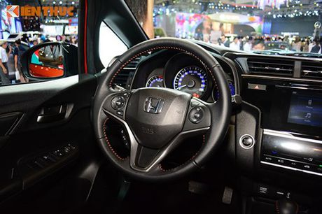 Xe oto Honda Jazz moi ve Viet Nam 'dau' Toyota Yaris - Anh 8