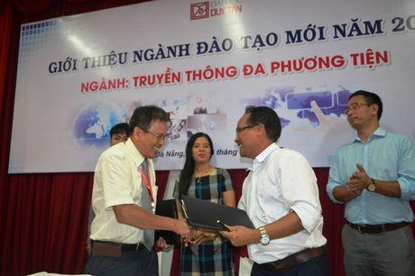 Bo giao duc cho phep Dai hoc Duy Tan dao tao nganh truyen thong da phuong tien - Anh 1