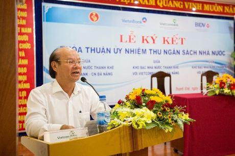 Vietcombank phoi hop thu ngan sach tren dia ban TP. Da Nang - Anh 2