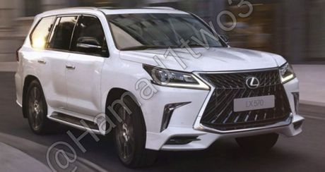 Lexus LX570S 2018 lo anh nong, dam chat the thao - Anh 1