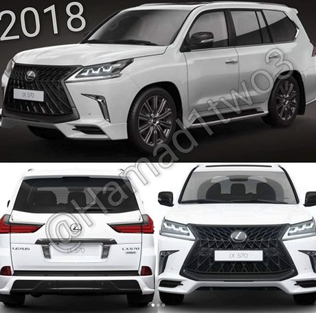 Lexus LX570S 2018 lo anh nong, dam chat the thao - Anh 2