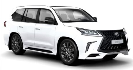 Lexus LX570S 2018 lo anh nong, dam chat the thao - Anh 4
