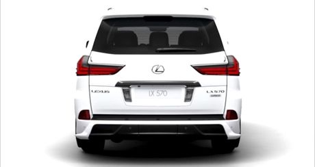Lexus LX570S 2018 lo anh nong, dam chat the thao - Anh 5