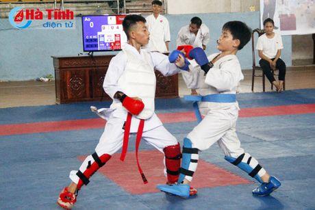Khai mac Giai Vo dich Karatedo Vo duong Hung Quan - Anh 3