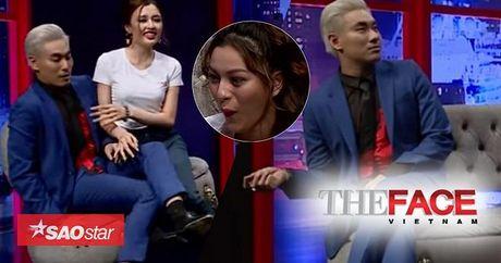 'Trai choi' Kieu Minh Tuan vao vai nu 'cuc ngot' huong dan Top 5 The Face - Anh 1