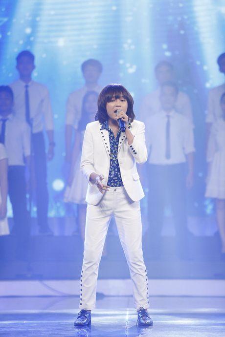 Vietnam Idol Kids: Thien Khoi 'toa sang' tai Gala 9 - Anh 3